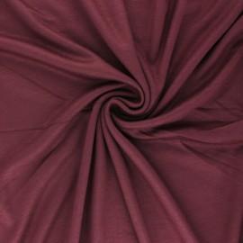 Mind the maker interlock Viscose fabric - plum purple x 10cm