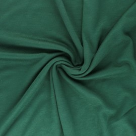 ♥ Coupon 200 cm X 170 cm ♥ Mind the maker interlock Viscose fabric - green