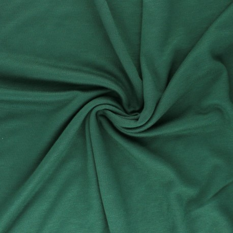 Tissu Mind the Maker Viscose interlock - noir x 10cm