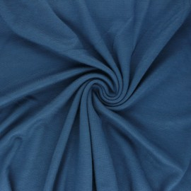 Mind the maker interlock Viscose fabric - blue x 10cm