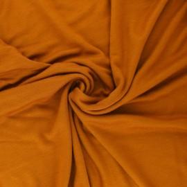 Tissu Mind the Maker Viscose interlock - bleu x 10cm