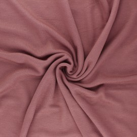 Mind the maker interlock Viscose fabric - gold curry x 10cm