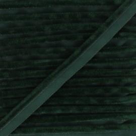 Passepoil velours Hilda - Vert foncé x 1m