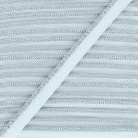 Lurex Piping - silver Party x 1m