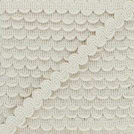 13 mm Serpentine Boho - cream x 1m