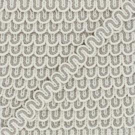 13 mm Serpentine Boho - linen/cream x 1m