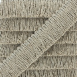 30 mm Fringe Trimmings - linen Cala Vadella x 1m