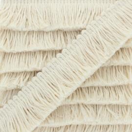 30 mm Fringe Trimmings - cream Cala Vadella x 1m