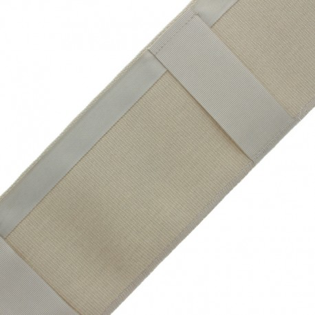 Hidden loop tape for curtains - sand x 1m