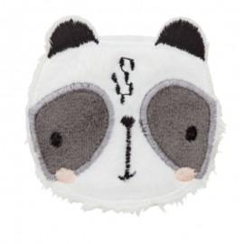 Thermocollant Tête de Panda  - blanc