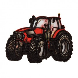 Iron-On Patch - red Tractor