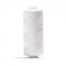 Bobine de Fil pour tout coudre Oeko-tex® 1000 m - blanc