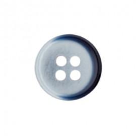 Bouton polyester Arly - Bleu