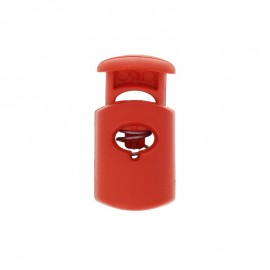 30 mm Polyester Cord Lock Stopper - red Hood