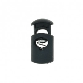 30 mm Polyester Cord Lock Stopper - navy blue Hood