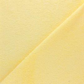 Tissu éponge bébé bambou - Jaune x 10cm