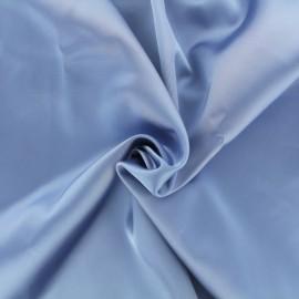 Tissu Satin Duchesse - bleu liberté x 10cm