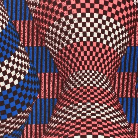 Wax print fabric - Blue Merya x 10cm