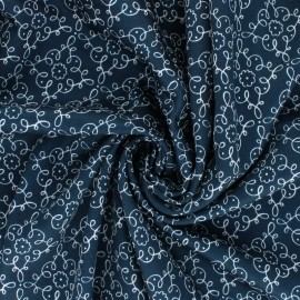Tissu popeline satinée Cloud 9 - Wildflower - Flourish x 10 cm