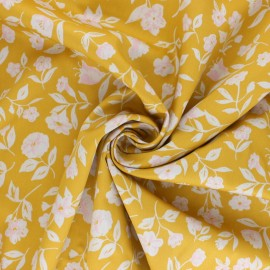 Cloud 9 satin poplin fabric - Wildflower Blossom x 10 cm