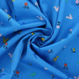 Cloud 9 satin poplin fabric - Wildflower Frolic x 10 cm