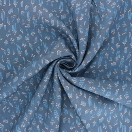 Cotton Steel Rayon fabric - Emilia Hermione grey x 10cm