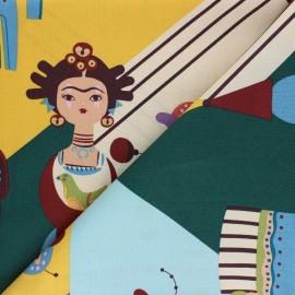 Alexander Henry cotton fabric - Frida Carita x 60 cm