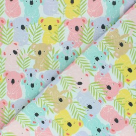 Tissu coton Blend fabrics - Lazy days - vert d'eau x 10 cm