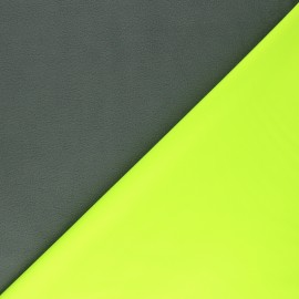 Softshell fabric - yellow Neon x 10cm