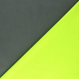 Tissu Softshell Neon - jaune fluo x 10cm