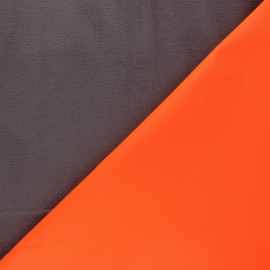Softshell fabric - orange Neon x 10cm