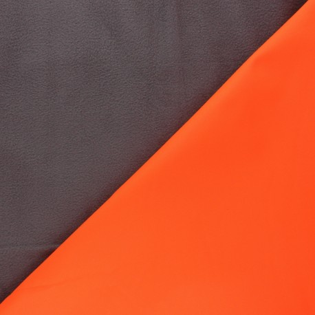 Softshell fabric Neon - orange x 10cm