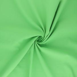 Tissu polyamide déperlant souple - vert pomme x 10cm
