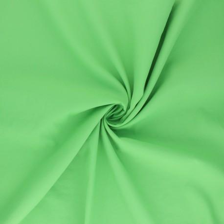 Light Water-repellent polyamid fabric - apple green x 10cm