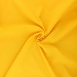 Light Water-repellent polyamid fabric - yellow x 10cm