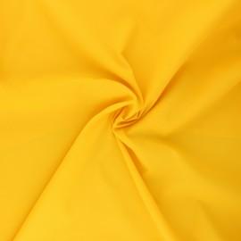 Tissu polyamide déperlant souple - jaune x 10cm