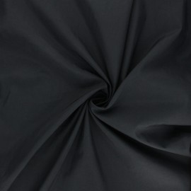 Light Water-repellent polyamid fabric - black x 10cm