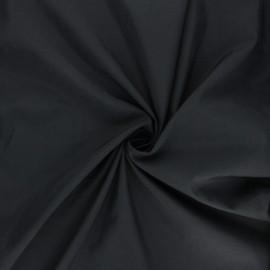 Tissu polyamide déperlant souple - noir x 10cm