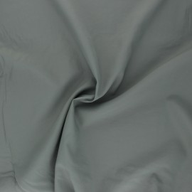Light Water-repellent polyamid fabric - grey x 10cm