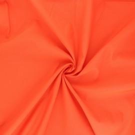 Tissu polyamide déperlant souple - orange x 10cm