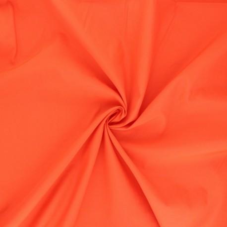 Light Water-repellent polyamid fabric - orange x 10cm