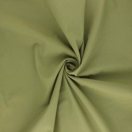 Light Water-repellent polyamid fabric - khaki green x 10cm