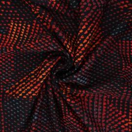 Tissu Lycra Maillot de bain Axel - noir x 10cm