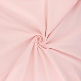 Tissu jersey uni Bio - Baby rose x 10cm