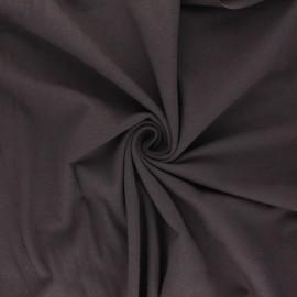 Tissu jersey uni Bio - Moka  x 10cm