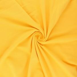 Tissu jersey uni Bio - Mimosa x 10cm