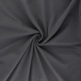 Tissu jersey uni Bio - gris plomb x 10cm