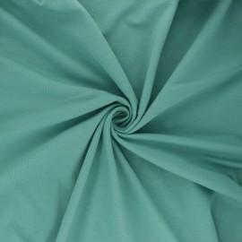 Tissu jersey uni Bio - vert céladon x 10cm
