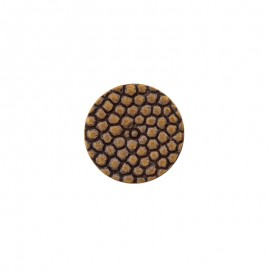 Polyester Button Lyvia - golden