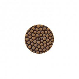 Polyester Button Lyvia - golden